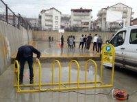 İzmit'te bisiklet park alanları artıyor