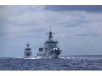 Çin-ABD donanmaları karşı karşıya geldi