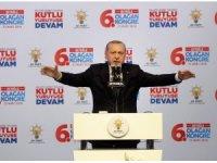"""Cumhurbaşkanı Erdoğan: """"Afrin ve Sincar'daki etkisiz hale getirilen terörist sayısı 3 bin 732 oldu"""""""