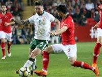 Hazırlık maçı: Türkiye: 1 - İrlanda Cumhuriyeti: 0 (Maç sonucu)