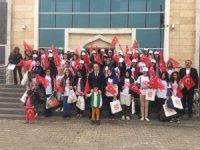 """Patnos'tan """"Biz Anadoluyuz"""" projesiyle 50 Kız öğrenci Kocaeli'ye gönderildi."""