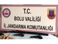 Bolu'da, jandarmadan operasyon: 3 gözaltı