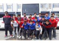 Silopili futbolcular Şanlıurfa'da