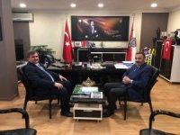 Vali Çınar, Milletvekili Çaturoğlu ile Emniyet Müdürünü ziyaret etti