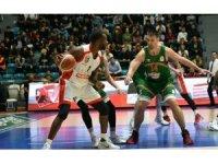 Tahincioğlu Basketbol Süper Ligi: Banvit: 71 - Muratbey Uşak: 58