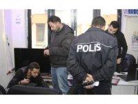 Isparta'da 184 polisli 48 ekiple 102 iş yerine baskın