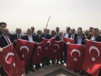 AK Parti Çorum teşkilatlarından Kilis çıkarması