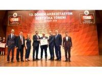 Aksaray Ticaret Borsanın akreditasyon sertifikası yenilendi