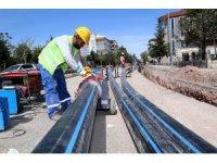 Aksaray'da 30 yıllık içme suyu hattı yenileniyor