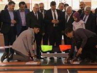 Bursa'da robotlar yarıştı