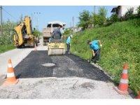 Kartepe'de asfalt çalışmaları devam ediyor