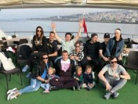 Trabzonspor'un yabancılarının teknede horon keyfi