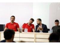 Eskişehir Basket'in devleri üniversitede