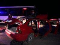 Denizli'de trafik kazası: 3 ölü, 9 yaralı