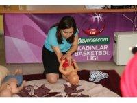 Spor İl Müdürlüğü personeline 'Temel İlk Yardım Eğitimi' verildi