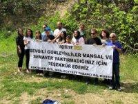 ''Gürleyik Şelalesine Sahip Çık'' sloganına ziyaretçilerden destek
