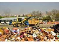 Ankara'daki sanayi sitelerinde metruk binaların yıkımı ve temizliği devam ediyor