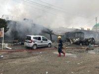 Iğdır'da tüp dükkanında patlama: 1 ölü, 1 yaralı