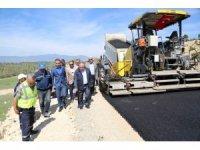 Kütahya'da sıcak asfalt sezonu başladı