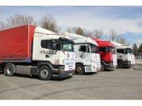 Erzurum'dan Doğu Guta'ya 5 tır insani yardım