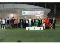 Rektörlük Zeytin Dalı Futbol Turnuvası'nda Dereceye Girenler Ödüllerini Aldı