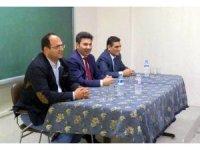 Rektör Karacoşkun Hacı Mehmet Koçarslan Anadolu Lisesi öğrencileriyle bir araya geldi