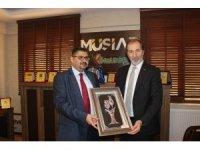 Sudan Büyükelçisi'nden MÜSİAD'a ziyaret