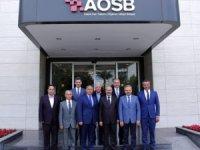 Vali Demirtaş, AOSB yönetimini kutladı