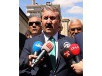 """Destici: """"Cumhur ittifakının adayını destekleyeceğiz"""""""