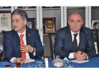 """ETSO'da, """"Değişen Küresel Ekonomi ve Türkiye"""" sunumu"""