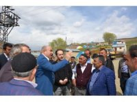 Başkan Kılıç'tan köylülere sürpriz