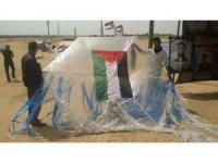 Gazze'de 'Büyük Dönüş Yürüyüşü'nde 4'üncü cuma