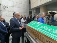 Başkan Yılmaz'dan Cemal Safi'ye son görev