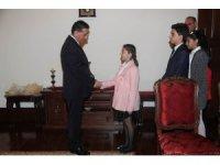 Ankara İl Milli Eğitim Müdürü Bardakçı'dan Vali Topaca'ya ziyaret