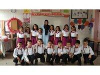 Öğrenciler 23 Nisan'ı coşkuyla kutladı