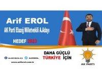 AKSAN Genel Başkanı Erol, milletvekili aday adaylığını açıkladı