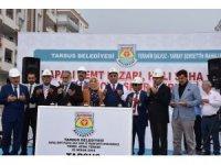 """Tarsus Belediye Başkanı Can: """"Göreve geldiğimiz günden bugüne kadar 33 hizmetimizin açılışını yaptık"""""""