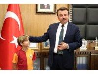 """Başkan Erkoç: """"Sporu alışkanlık haline getirmek istiyoruz"""""""
