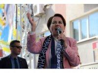 İYİ Parti Lideri Akşener'den Manisa mitingi
