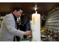 Güney Kore'deki feribot faciasının kurbanları anıldı