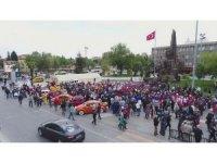 Uşak'ta 3 gün sürecek çocuk festivali başladı