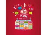23 Nisan 4. Çocuk Şenliği Masal Park'ta yapılacak