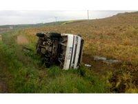 Tekirdağ'da trafik kazası : 2 yaralı