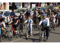 """Aydın'da """"Bisikletini Al da Gel"""" etkinliği düzenlendi"""