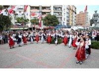 Karşıyaka'yı 23 Nisan coşkusu sardı