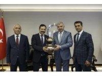 Malatya Büyükşehir Belediyesi Daire Başkanları Başkan Çelik'i ziyaret etti