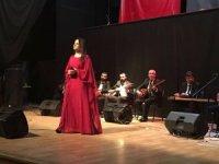 """Tatvan'da """"Türk halk müziği"""" konseri düzenlendi"""
