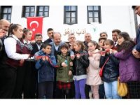Tarihi Mehmet Ağa Konağı kapılarını çocuklara açtı