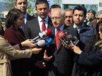 """Enis Berberoğlu'nu ziyaret eden Kemal Kılıçdaroğlu: """"Erken seçim kararı, son derece güzel ve iyidir"""""""