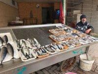 Balık tezgahları boşaldı